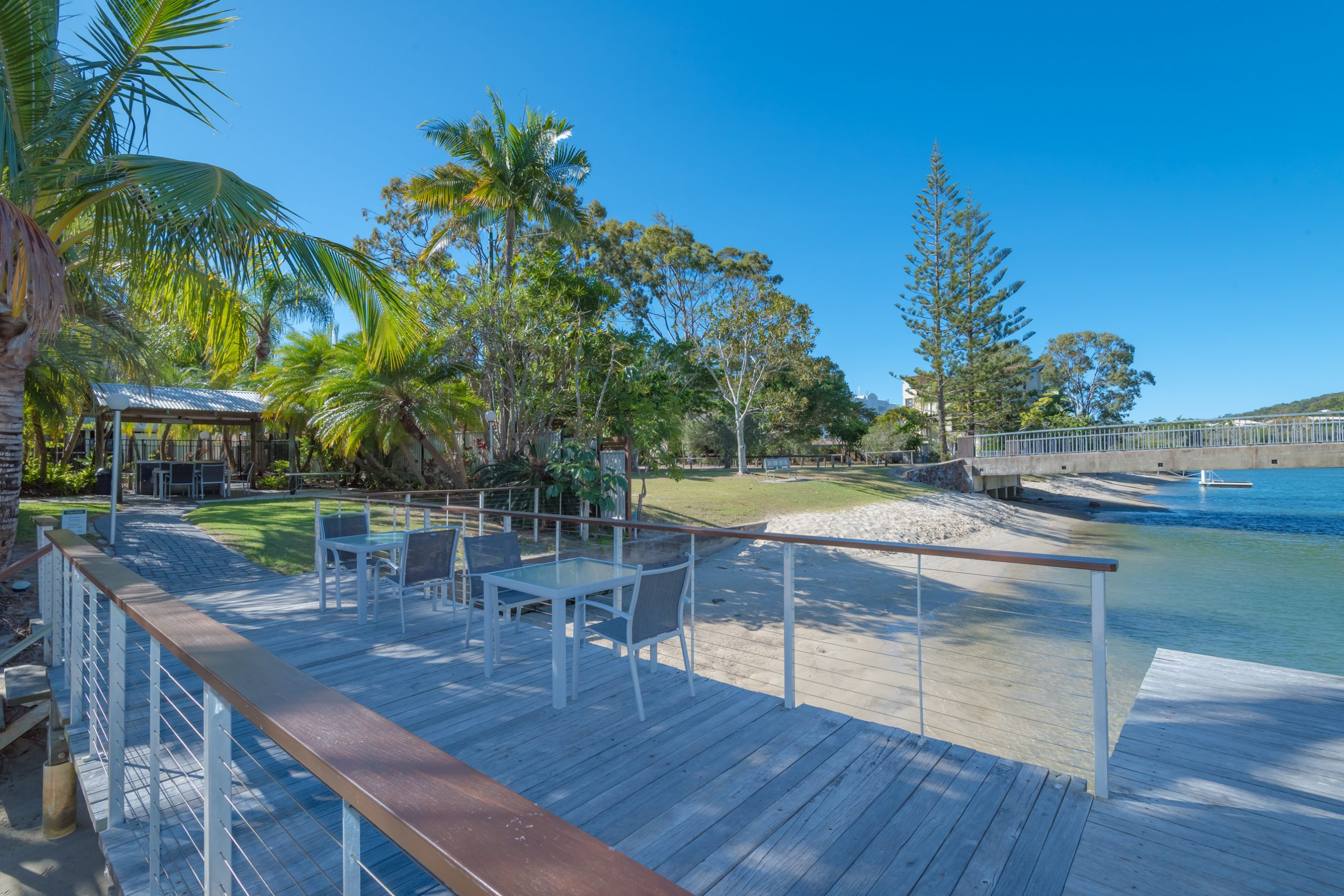 Private Jetty Caribbean Noosa